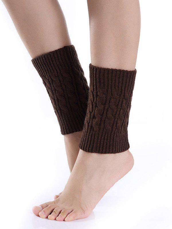 Unique Cable Knitted Boot Cuffs