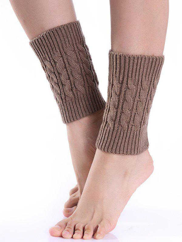 Hot Cable Knitted Boot Cuffs