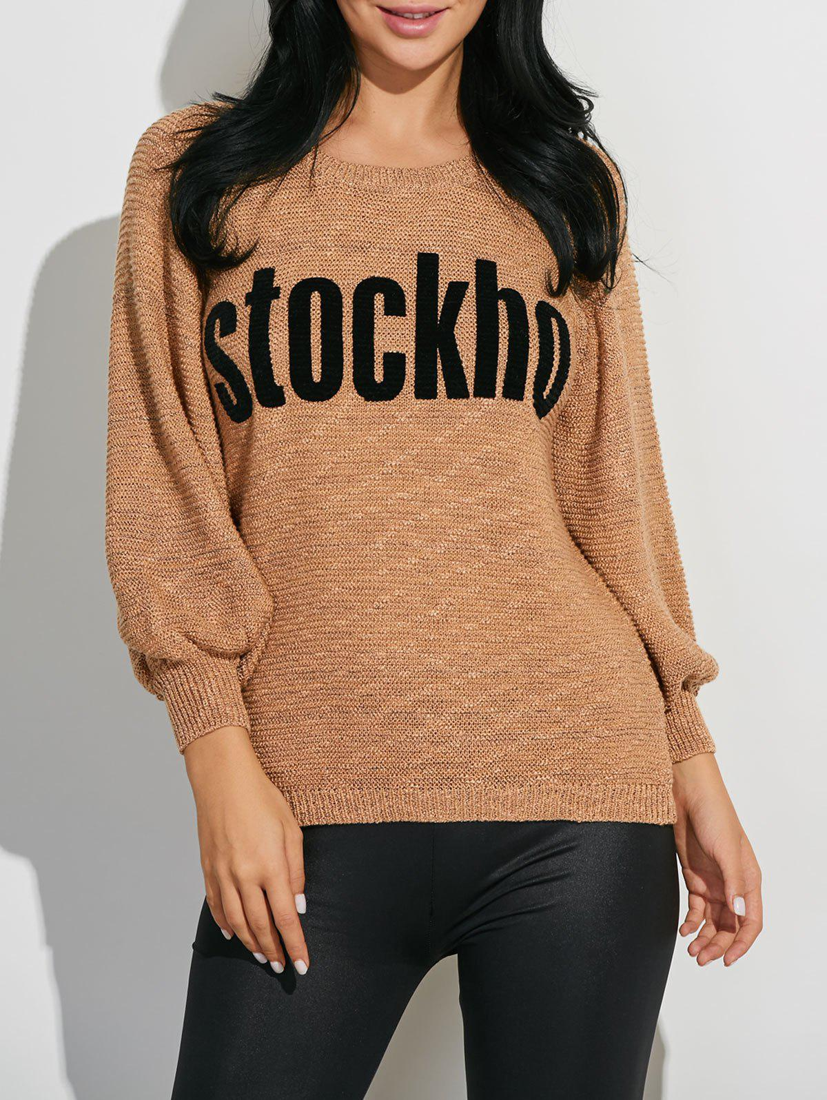 Sale Stockho Graphic Ribbed Knitwear