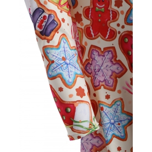 Christmas Cookie Swing Dress - COLORMIX ONE SIZE