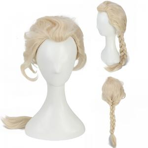 Long Braided Mixed Color Queen Synthetic Cosplay Wig - Colormix