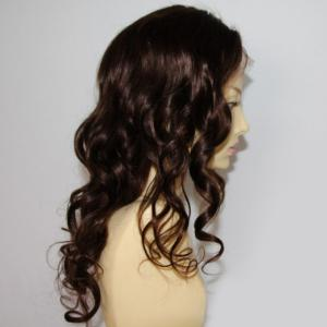 Long Shaggy Loose Wave Lace Front Brazilian Human Hair Wig -