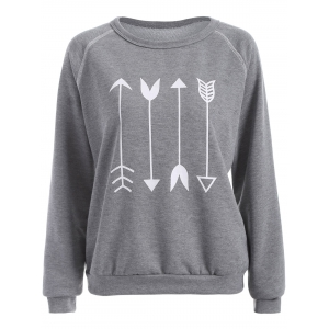 Arrow Graphic Sweatshirt
