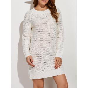 Pullover Casual Jumper Sweater Dress Winter