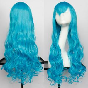 Long Side Bang Wavy Synthetic Cosplay Wig