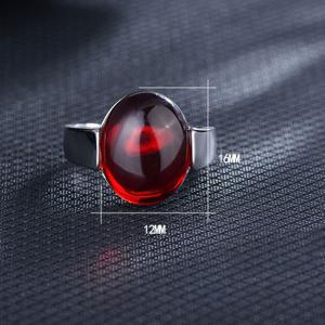 Natural Stone Ring - RED ONE-SIZE