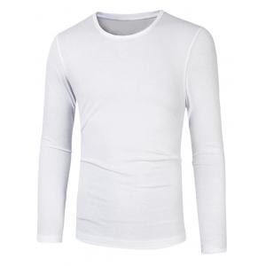 Plain Round Neck Basic T Shirt
