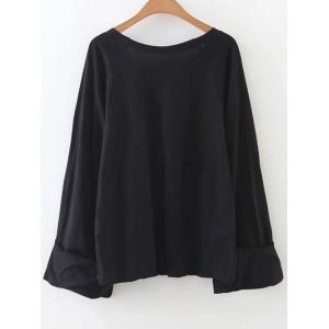 Casual Scoop Neck Tunic T-Shirt -