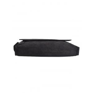 PU Leather Clutch Bag - BLACK