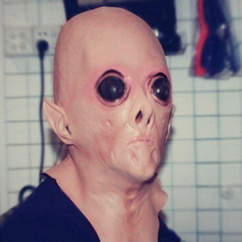 New Halloween Supply UFO Aliens Latex Mask Cosplay Prop - COMPLEXION  Mobile