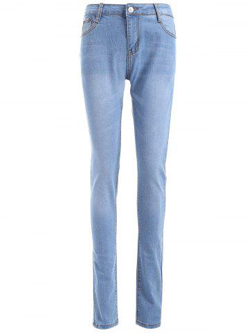 Chic Comfy Skinny Leg Jeans