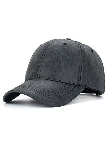 Outfit Outdoor Sport PU Baseball Hat