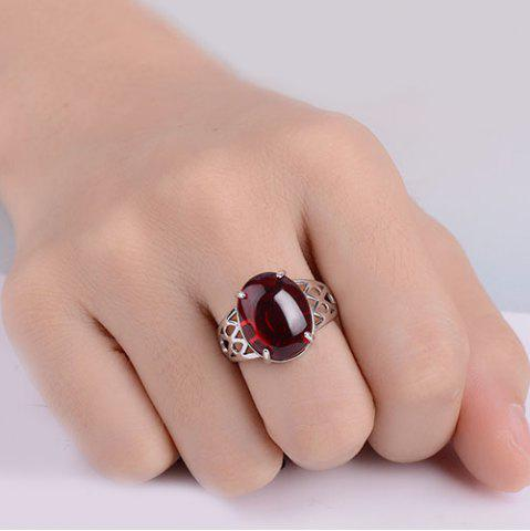 Outfit Natural Stone Geometric Ring