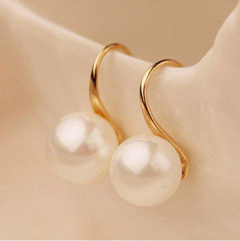 Fashion Artificial Pearl Earrings