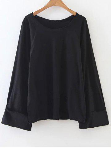 Latest Casual Scoop Neck Tunic T-Shirt