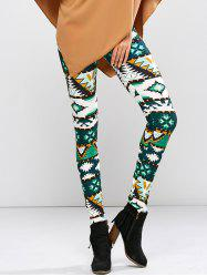 High Waist Patter Skinny Leggings