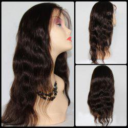 Long Side Bang Body Wave Lace Front Malaysian Human Hair Wig