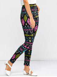High Waist Tribal  Geometric Leggings