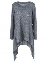 Thumb Hole Asymmetrical Sweater