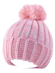 Yarn Knitted Pompom Ball Beanie Hat