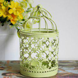 Home Decorative Hanging Birdcage Iron Candle Holder ( Without Candle )