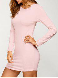 Casual Long Sleeve Bodycon Dress -
