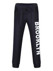 Drawstring Brooklyn Jogger Pants