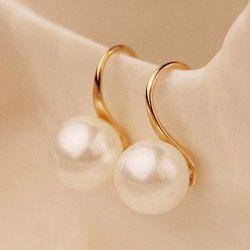 Artificial Pearl Earrings