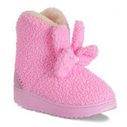 Bowkont Platform Flocking Snow Boots -