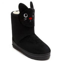Platform Cartoon Cat Snow Boots