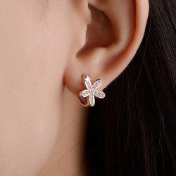 Mirco Flower Alloy Earrings