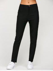 Chino Concise Slim Capri Pencil Work Pants