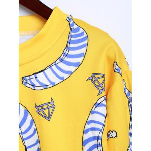 Banana Imprimer Sweat-shirt -
