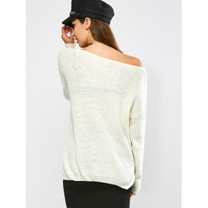 High Low Hem Chunky Sweater -