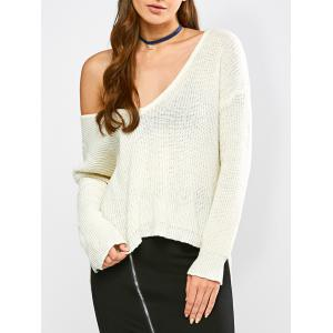 High Low Hem Chunky Sweater