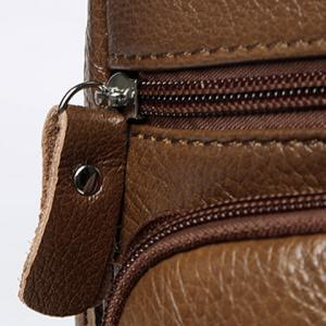 Faux Leather Vintage Chest Pack -