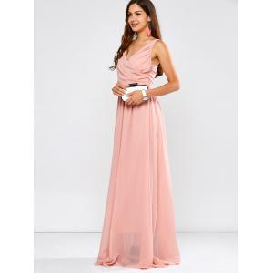 Stunning Formal Surplice Maxi Wedding Party Bridesmaid Dresses -