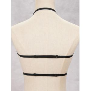 Layered Harness Bra Bondage Body Jewelry -