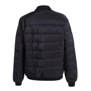 Warm Zipper Up Down Jacket -