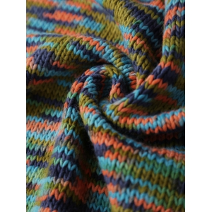 Super Soft Colorful Knitting Mermaid Tail Blanket - COLORMIX