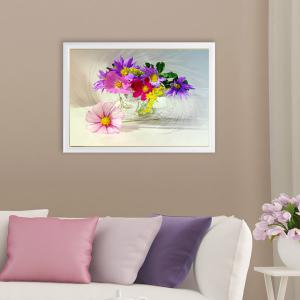DIY Beads Painting Colorful Florals Cross Stitch - COLORMIX