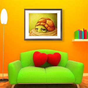 DIY Beads Painting Cartoon Turtle Animal Cross Stitch - Colormix