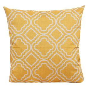 Geometry Pattern Sofa Cushion Linen Pillow Case