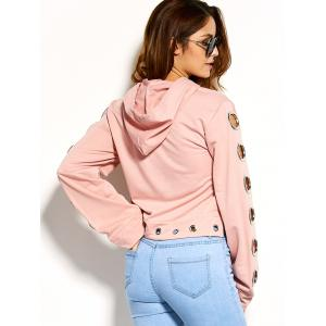 Cute Embroidery Iron Ring Hoodie -