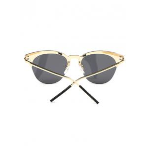 Travel Butterfly Shaped Sunglasses - BLACK