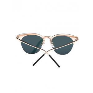 Travel Butterfly Shaped Mirrored Sunglasses - PINK