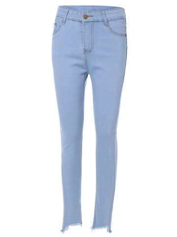 Outfit High Waist Light Wash Jeans
