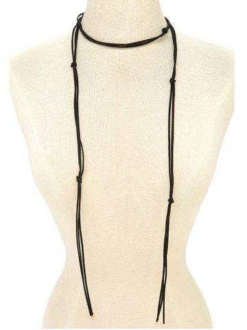 Discount Choker Drawstring Sweater Chain