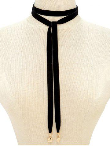 Store Velvet Rope Choker Sweater Chain