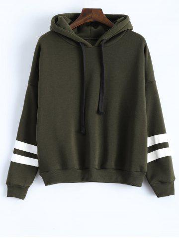 Sale Long Sleeve Striped Oversized Hoodie